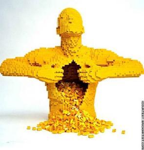 Lego guts