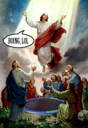 Bouncing Jesus