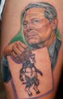 Al Gore/ManBearPig tattoo