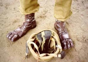 Sasquatch army boots