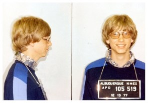Bill Gates's Mug Shot