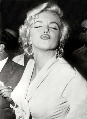 Five times Marilyn
