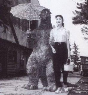 Godzilla out for a stroll