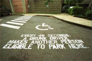 Drunk driving advert