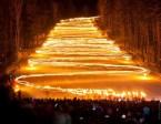 Lightning at torch festival