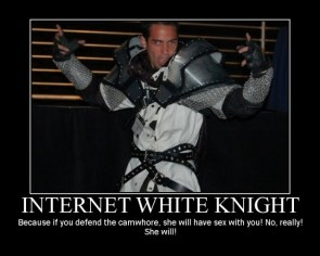 Internet White Knight Motivational
