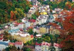 A Birdeye View of Karlovy Vary, Czech Republic