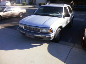 """My ride"" theme day – 1996 gmc jimmy."