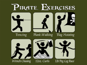 Pirate Exercises