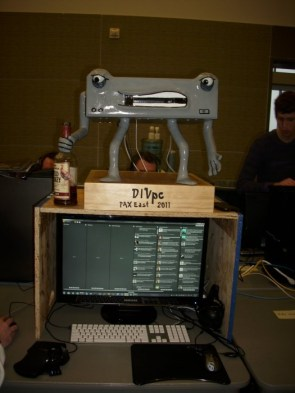 A case I built for Penny Arcade Expo (PAX East 2011)