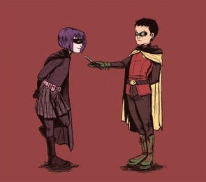 Hit Girl meets Robin: We're all Fucked Now