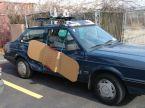 bandaid car