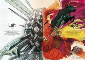 Left brain – Right brain Benz Ad
