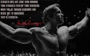 Schwarzenegger on Strength