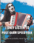 Post glam speed folk