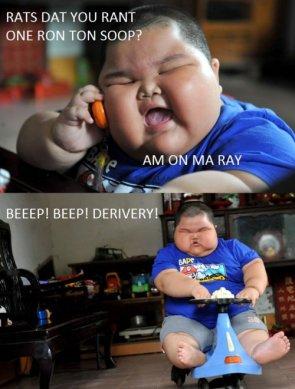 Ron Ton Soop?!