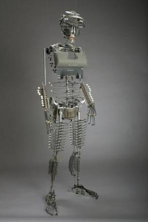 Nude Typewriter Mannequin