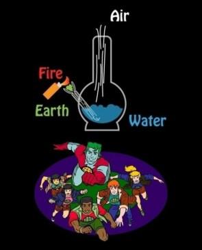 Captain Planet's Hidden Message