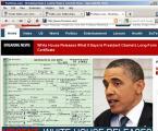 Obama's Birth Certificate