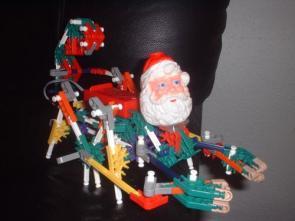 K-Nex Robot Santa