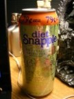 Diet snapple – diet peach green tea