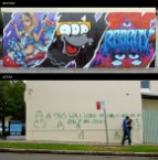 Graffiti revenge