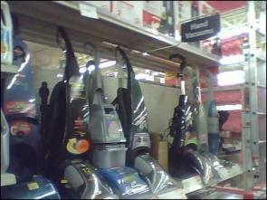 Walmart Hand Vacs are HUGE!