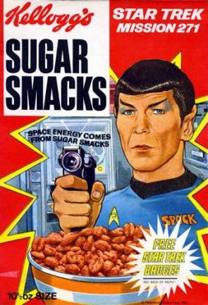 Star Trek Cereal
