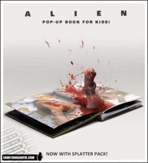Alien Pop-Up Book
