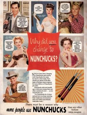 Why YOU should choose NUNCHUCKS too!
