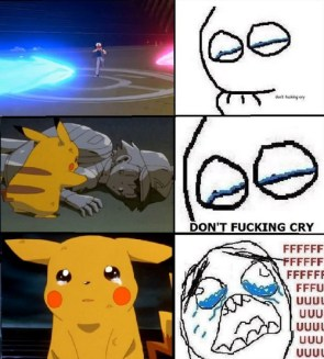 Don't cry . . .