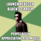 Tyler Durden's Take On Rebecca Black