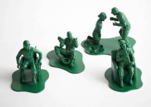 P.T.S.D. Army men