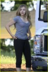 Chloe Moretz in sweats