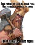 Odin > Jesus