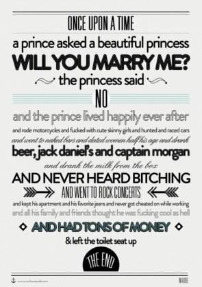 Once Upon A Time A Prince Asked…
