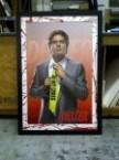 Framed Dexter poster