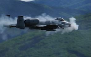A-10 firing