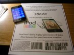 iPod touch $200 off coupon