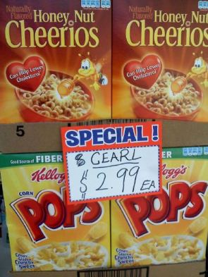 Cerealusly……..