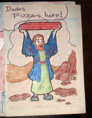 Moses coloring book