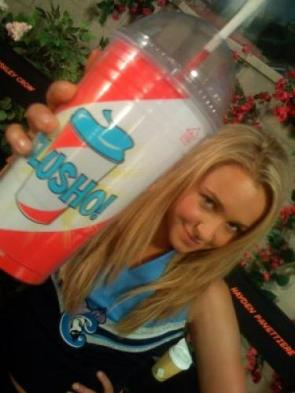 Hayde loves slusho