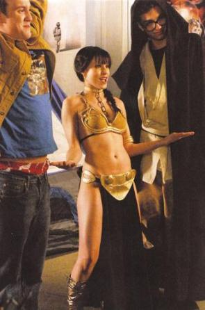 Kristen bell in leia's bikini