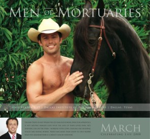 Men of Mortuaries calendar