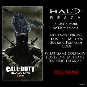 Reach vs. cod