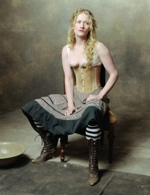 Paula Malcomson as Trixie the whore – Deadwood
