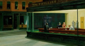 "Hopper's ""the time traveler"""