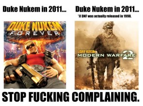 Duke Nukem Forever… what it could have been.