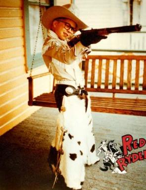 Ralphie and his Red Rider BB Gun
