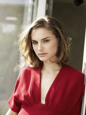 natalie in red